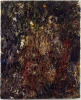 Eugène Leroy, Nu en fête, 1996, oil on canvas, 39 1/4 x 32 inches (courtesy of M