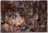 Eugène Leroy, Nu blanc couché au grand visage, 1991, oil on canvas, 38 1/4 x 57