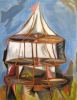 Trent Miller, Bigtop, oil on paper, 30 x 22, 2010 (courtesy of the artist)