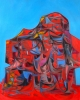 Trent Miller, Flotsam, oil on canvas, 45 x 36 inches, 2012 (courtesy of the arti