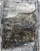 Nick Miller, To Ben Bulben, with Ladder, 2007, chinese ink & watercolour on pape