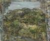 Nick Miller, Studio Yard to King's Mountain, 2009, oil on linen, 51 x 61 cms (co