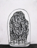 Trent Miller, THEY Domed the Specimen, charcoal on paper, 14 x 11 inches, 2012 (