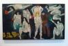 Jan Müller, Walpurgisnacht-Faust I, 1956, oil on cnavas, 68 x 119 inches (courte
