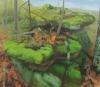 Kristin Musgnug, Mossy Rocks, oil on canvas, 2012 (courtesy of the artist)