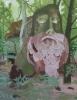 Joseph Noderer, The Nights Progress, 2012, 30 x 38 inches, acrylic on wood panel