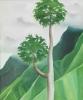 Georgia O'Keeffe, Papaw Tree, 'Iao Valley, Maui, 1939, oil on canvas (Honolulu Academy Of Arts)
