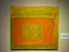 Perle Fine, Cool Series, (Orange over Yellow), ca. 1961-1963 Oil on canvas, 14 x