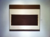 Perle Fine, Cool Series, No. 28, Clean Beat, ca. 1961-1963 Oil on canvas, 60 x 7