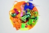 "Judy Pfaff, Jules, 48"" x 48 x 32 inches, artificial flowers, acrylic, paper, mel"