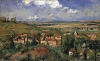 Camille Pissarro, L'Hermitage in Summer, Pontoise, 1877 (Helly Nahmad Gallery, N