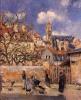 Camille Pissarro, 1878, Le Parc aux Charrettes, Pontoise (Private Collection)