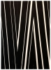 David Rhodes, Untitled, 2013, acrylic on raw canvas, 42 x 30 inches (courtesy of