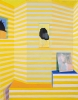 Emil Robinson, Yellow Striped Interior, 2016, oil on linen, 72 x 50.jpg (courtesy of the artist)