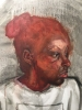 Sedrick Huckaby, Girl with Red Hair (detail)