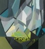 Kimberly Trowbridge, Dystopia, 2011, oil on canvas, 22 x 20 inches (courtesy of